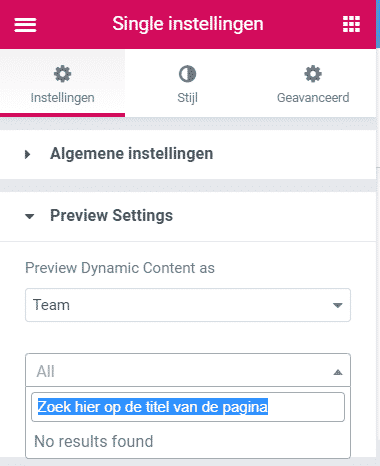 Template maken voor custom post types