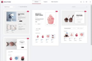 Templates WooCommerce productpagina Elementor