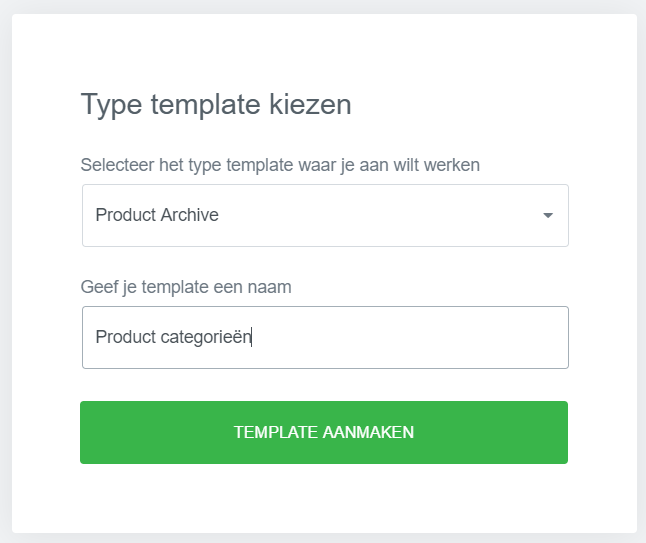 WooCommerce categorie pagina aanpassen template elementor maken