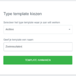 Layout zoekresultaten wordpress aanpassen theme builder elementor