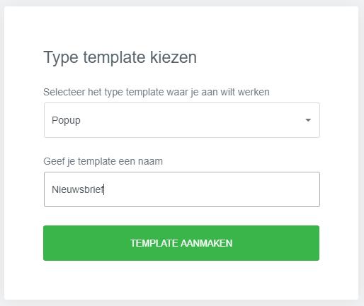Popup maken in wordpress met Elementor voor nieuwsbrief