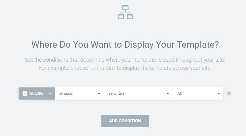 slide-in popup publiceren elementor