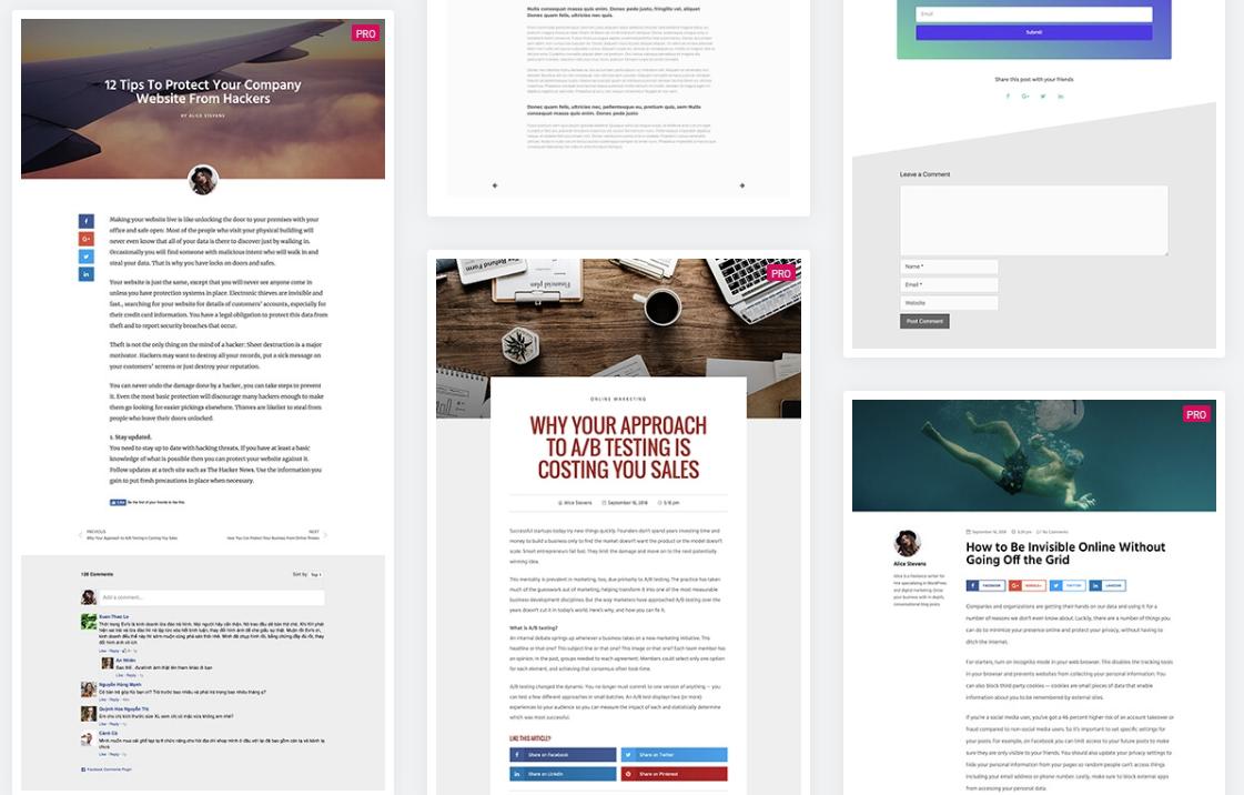 Wordpress zonder thema - blog pagina instellen elementor