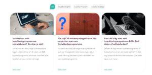 Blogfilters instellen Elementor voorbeeld